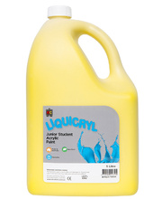 EC Jumbo Liquicryl Paint 5L - Brilliant Yellow