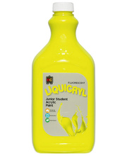 EC Fluorescent Liquicryl Paint 2L - Yellow