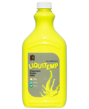 EC Fluorescent Liquitemp Paint 2L - Yellow