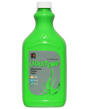 EC Fluorescent Liquitemp Paint 2L - Green