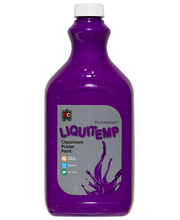EC Fluorescent Liquitemp Paint 2L - Purple