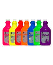 EC Fluorescent Liquitemp Paint 2L - Set of 7