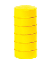 Paint Blocks Thick Refill Set - Brilliant Yellow 6pk