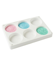 Paint Palette - No.14 Large 6 Wells and Stackable