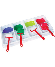 EC Paint Roller Tray With Four Bays - Each