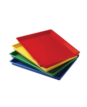 Art Tray - Assorted Colours Set of 4
