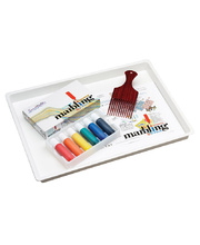 Marbling Kit (Inks, Comb & Tray)