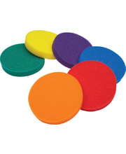 Sponge Bowl Inserts - Set of 6 Assorted Colours