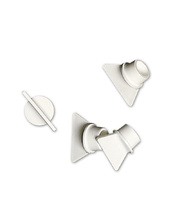 Premium Safety Paint Pot Stoppers - White