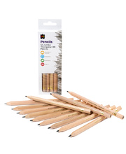 EC Triangular Jumbo HB Pencils - 12pk