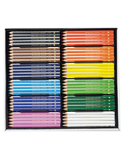 EC Jumbo Triangular Coloured Pencils - 120pk