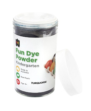 EC Craft Fun Dye Powder 100g - Turquoise