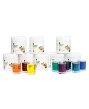 EC Craft Fun Dye Powder 500g - Set of 8