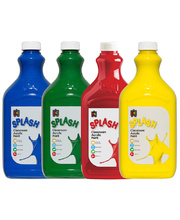 EC Splash Paint 2L - Popular Colours Set of 4