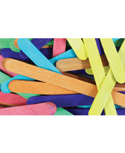 Pop Sticks 1000pk - Assorted Colours