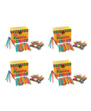Pop Sticks - Assorted Colours 4 x Pack of 1000