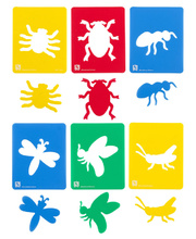 EC Insects Stencil - 6pk