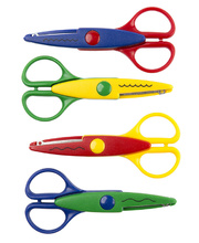 *EC Craft Scissors - Assorted Designs 4pk
