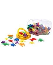 Garden Bugs Counters Jar - 144pcs