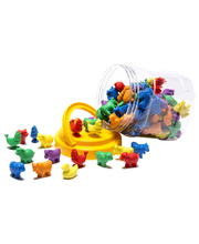 Farm Animals Counters Jar - 108pcs