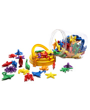 Sea life Counters Jar - 84pcs