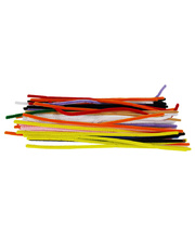 Pipe Cleaner Assorted Colours - Long 300mm 200pk