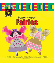 *SPECIAL: EC Paper Fun Shapes 24pk - Fairies 160 x 220mm