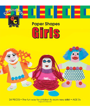 *SPECIAL: EC Paper Fun Shapes 24pk - Girls 130 x 150mm