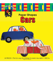 *SPECIAL: EC Paper Fun Shapes 24pk - Cars 270 x 140mm