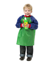 EC Smock Green & Blue - Toddler