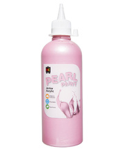 EC Pearl Junior Acrylic Paint 500ml - Pink