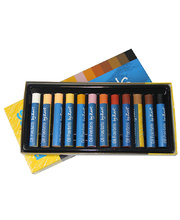 Large Oil Pastels - Assorted Skin Tones 12pk