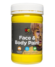 Face Paint 175ml - Yellow
