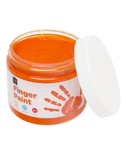Finger Paint 250ml - Orange