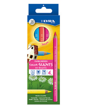 *SPECIAL: Lyra Colour Giant Pencils - Neon 6pk
