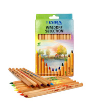 @Lyra Super Ferby Pencils - Waldorf Natural Selection 12pk