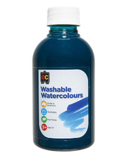 Washable Watercolour Paint  250ml - Turquoise