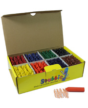 EC Stubbies Crayons Assorted Colours - 160pk