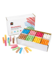 EC Stumpies Chalk - Assorted Colours 160pk