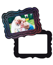 Scratch Magnetic Shapes - Photo Frame 10pk