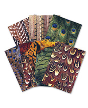 Printed Pattern Paper A3 40pk - Feather
