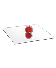 Decorative Square Acrylic Mirror - 10pk