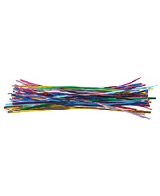 Twistable Ties Metallic - Assorted 100pk