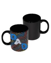 Porcelain/Ceramic - Black Mug 350ml
