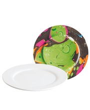 Porcelain/Ceramic - White Plates 6pk
