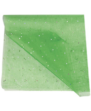 Poly Organza Roll 70cm x 10m - Green Diamond
