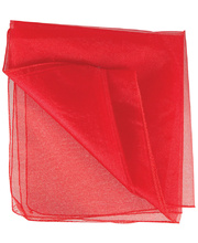Poly Organza Roll 70cm x 10m - Red