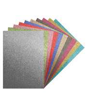 *Assorted A4 Glitter Iron Transfer Sheets - 10pk