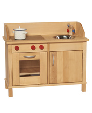 Gluckskafer Children's Wooden Kitchen