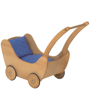 Gluckskafer Wooden Doll Pram - Large